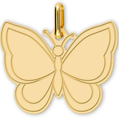 Pendentif Papillon (or jaune 375°)  par Lucas Lucor