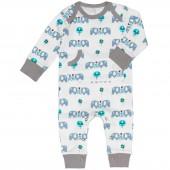 Combinaison pyjama éléphant (6-12 mois : 67 à 74 cm) - Fresk