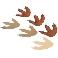 Lot de 6 décorations de table trace de dinosaure  par Arty Fêtes Factory