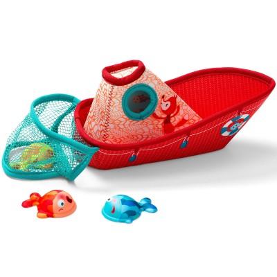 Bateau de pêche  par Lilliputiens