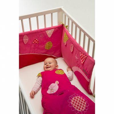 Tour de lit fille Liz (pour lits 60x120 et 70x140cm)