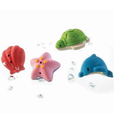 Mes animaux marins de bain  par Plan Toys