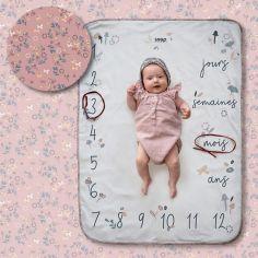 Couverture étapes de bébé Flora