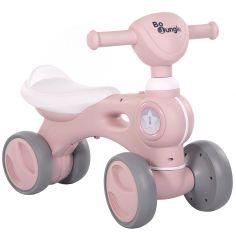 Porteur vélo rose