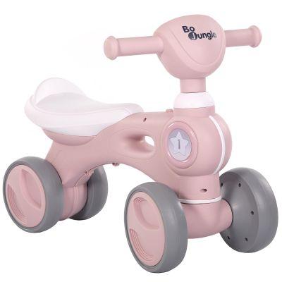 Porteur vélo rose  par Bo Jungle