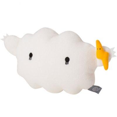 Coussin nuage Ricestorm blanc (28 cm)   par Noodoll