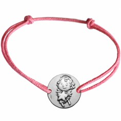 Bracelet cordon enfant Maline (argent 925°)