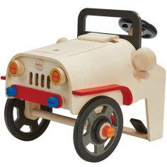 Ma première voiture de mécanicien en bois