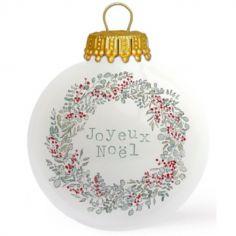 Boule de Noël Joyeux Noël x Tendrement Fé