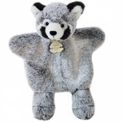 Peluche marionnette Panda roux Sweety Mousse (25 cm)  par Histoire d'Ours