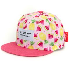Casquette rose Fruity (3-6 ans)