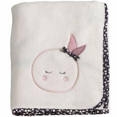 Couverture bébé Miss Fleur de Lune (75 x 100 cm)
