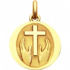 Médaille Credo Deo (Or jaune 750 millièmes)