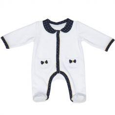 Pyjama chaud noeud Hello (1 mois)