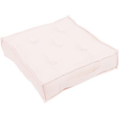 Pouf coussin de sol rose poudré Party  par Cotton&Sweets