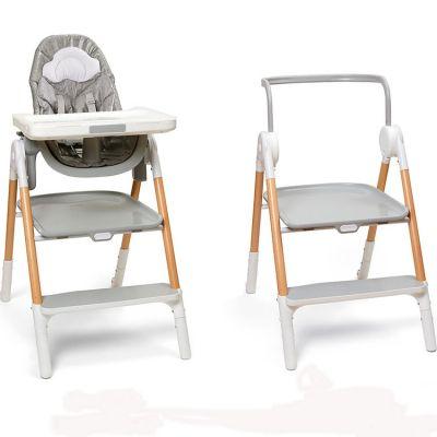 Chaise haute évolutive Sit-To-Step gris et blanc Skip Hop
