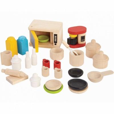 Accessoires de cuisine pour poupée  par Plan Toys