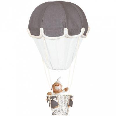Lampe montgolfière gris et blanc   par Domiva