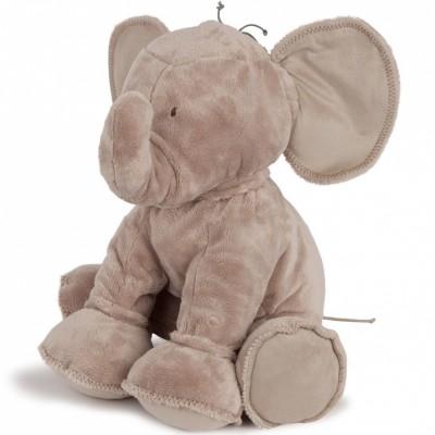 Peluche Ferdinand l'éléphant taupe (60 cm) Tartine et Chocolat