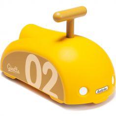 Porteur Ginetta Ride on jaune