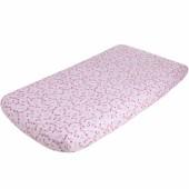 Drap housse Pink Blossom (90 x 200 cm) - Little Dutch