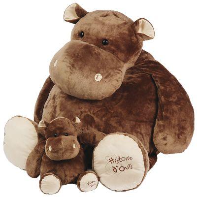 Peluche hippo La savane (120 cm) Histoire d'Ours