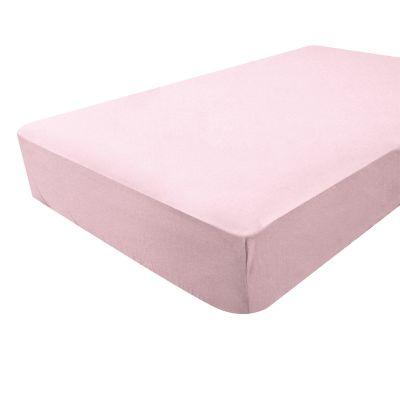 drap housse rose bambou 60 x 120 cm par doux nid. Black Bedroom Furniture Sets. Home Design Ideas
