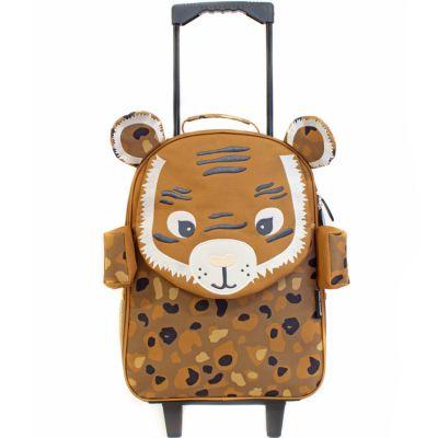 Valise trolley Speculos le tigre  par Les Déglingos