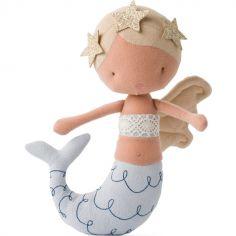 Poupée souple sirène blonde Pearl (22 cm)