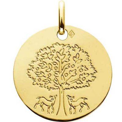 Médaille Arbre de Vie (or jaune 750°)  par A.Augis