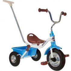 Tricycle Racing Monaco avec panier arrière bleu