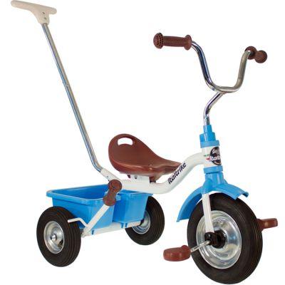 Tricycle Racing Monaco avec panier arrière bleu  par Italtrike