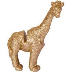 Lot de 4 marque-places en résine girafe Jungle Fever