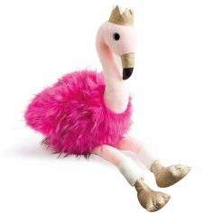 Peluche Flamant rose Girls & Glitter (30 cm)