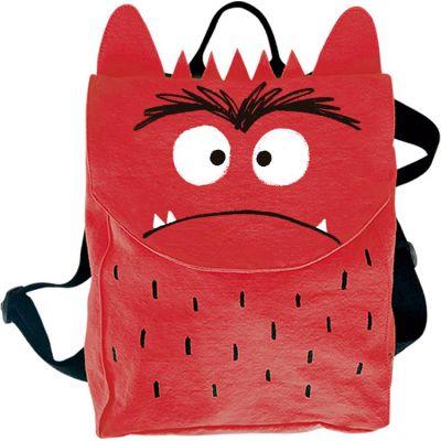 Sac à dos enfant Monstre en colère rouge  par The Colour Monster & Co