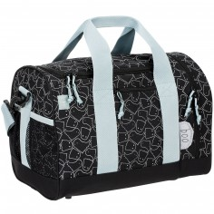 Mini sac de sport Little Spookies noir