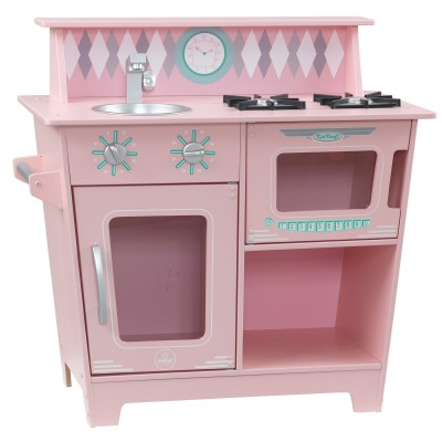 cuisine en bois rose kidkraft berceau magique. Black Bedroom Furniture Sets. Home Design Ideas