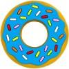 Jouet de dentition Donut bleu - Silli Chews