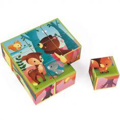 Puzzle cube Kubkid Forêt (9 cubes)
