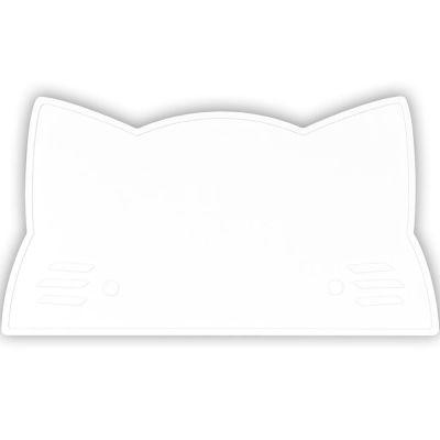 Set de table chat Snow blanc  par We Might Be Tiny