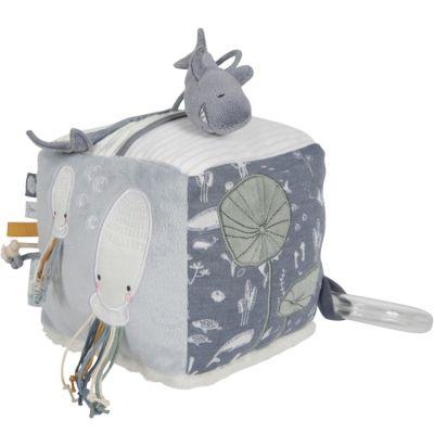 Cube d'activités Soft Ocean blue  par Little Dutch