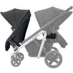 Kit assise + adaptateurs et accessoires noirs pour poussette Lila Nomad