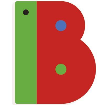 Lettre décorative papillon B  par Djeco