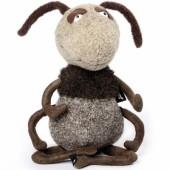 Peluche fourmi Hugo Hopdipop Beasts (31 cm) - Sigikid