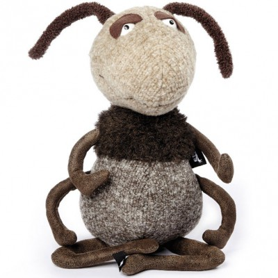 Peluche fourmi Hugo Hopdipop Beasts (31 cm) Sigikid