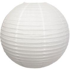 Boule japonaise blanche (50 cm)