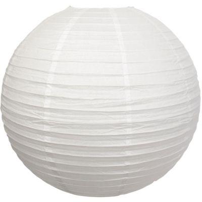 Boule japonaise blanche (50 cm)  par Arty Fêtes Factory