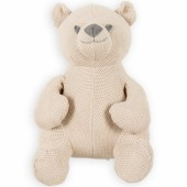 Peluche ourson Classic sable (35 cm) - Baby's Only