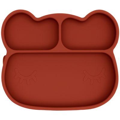 Assiette à compartiments ours rust  par We Might Be Tiny