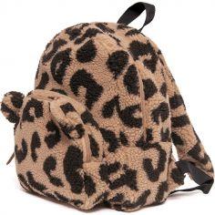 Sac à dos bébé en peluche Teddy léopard